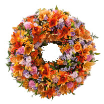 Colorful wreath